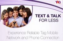 Text and Talk for Less